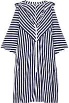 Araks Margot Striped Cotton-terry Coverup