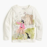 J.Crew Girls' Olive & Izzy castle T-shirt