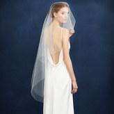 J.Crew Twigs & Honey® single layer fingertip veil