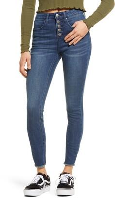BP High Waist Ankle Skinny Jeans
