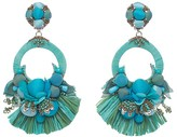 Ranjana Khan Petal Drop Clip-On Earrings
