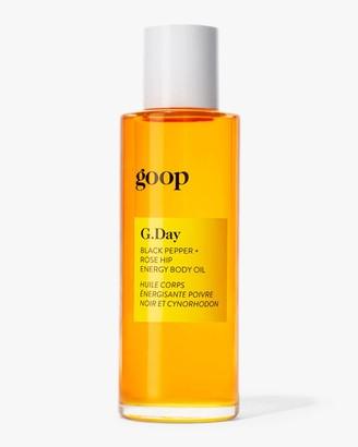 Goop G.Day Black Pepper and Rose Hip Energy Body Oil 90ml