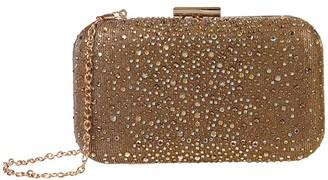 Jessica McClintock Mollie (Bronze) Handbags