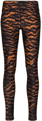 The Upside Tiger-Print Yoga Leggings