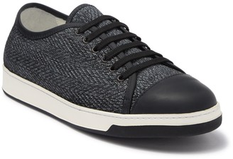 Bugatchi Paris Suede & Leather Sneaker