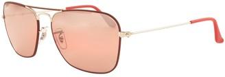 Ray-Ban 3136 Caravan Sunglasses Red