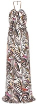 Emilio Pucci Printed Halter Top Dress