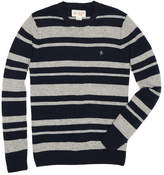 Original Penguin Striped Wool Crew Sweater