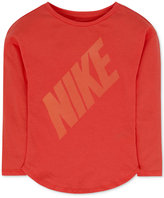 Nike Futura Graphic-Print T-Shirt, Toddler & Little Girls (2T-6X)