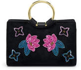 Henri Bendel Marquis Mini Haircalf Applique Satchel