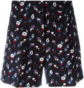 Thom Browne embroidered floral shorts