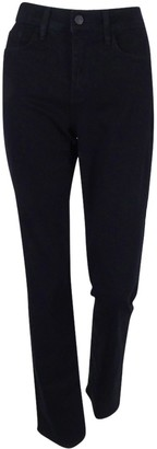 NYDJ Women's Plus-Size Marilyn Straight in Classic Overdyed Denim Jeans