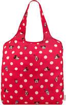 Cath Kidston Mickey and Friends Button Spot Foldaway Shopper