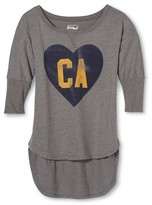Los Angeles Local Pride by Todd Snyder Women's CA Love Dolman - Heather Gray