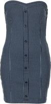 Topshop MOTO Stripe Denim Bodycon Dress