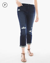 Chico's Repaired Girlfriend Crop Jeans
