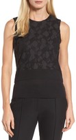 BOSS Women's Elrica Lace Front Knit Top