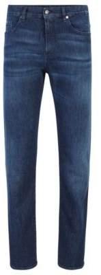 BOSS Slim-fit jeans in lightweight Italian denim