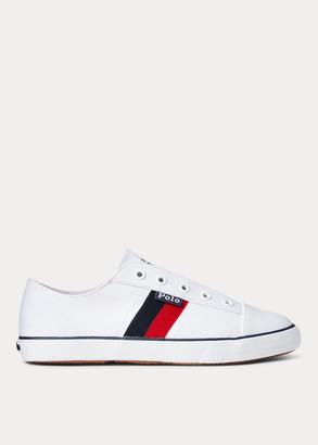 Ralph Lauren Robson Cotton Canvas Sneaker