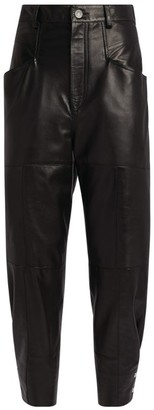 Isabel Marant Xiamao Leather Trousers