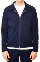 Gant Rugger Textured Shirt Jacket Blue blue