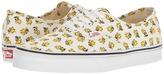 Vans Authentic X Peanuts Collaboration Woodstock/Bone) Skate Shoes