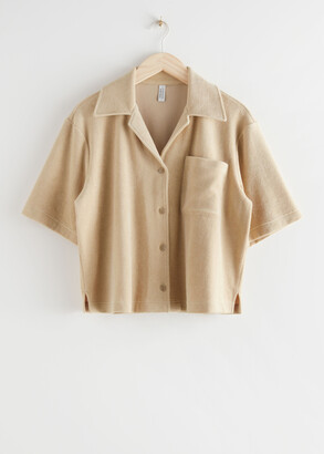 And other stories Boxy Bowling Shirt