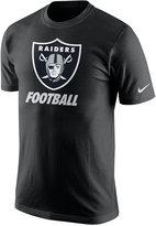 Nike Men's Oakland Raiders Facility T-Shirt