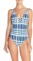 LaBlanca Women's La Blanca 'Moody Blues' One-Piece Swimsuit