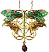 Summit Dragonfly Pendant - Collectible Medallion Necklace Accessory Jewelry