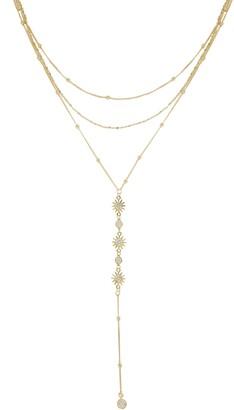 Ettika Sunburst Y-Necklace