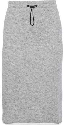 Rag & Bone Melange French Cotton-terry Skirt