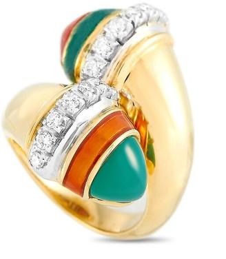 Heritage Fred Of Paris Fred Of Paris 18K 0.50 Ct. Tw. Diamond & Gemstone Ring