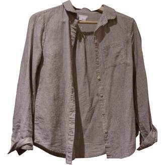 Urban Outfitters Grey Cotton Top for Women