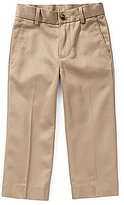 Class Club Gold Label Little Boys 3T-7 Flat-Front Twill Pants