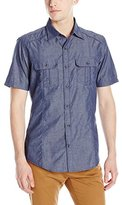 Burnside Men's Warning Woven Shirt