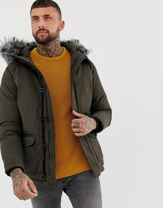 Devils Advocate Premium Japanese Faux Fur Hooded Parka Jacket
