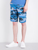 Givenchy Hawaiian cotton shorts