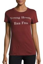 Wildfox Couture Young Hearts Run Free T-Shirt