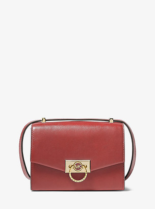 Michael Kors Hendrix Extra-Small Leather Crossbody Bag