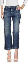 AG Adriano Goldschmied Denim pants - Item 42572496