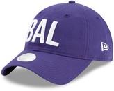 New Era Women's Purple Baltimore Ravens Hometown 9TWENTY Adjustable Hat