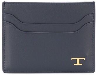 Tod's T plaque cardholder