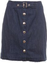 Dondup Buckle Fastening Mini Skirt