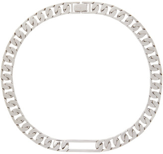 Numbering Silver 937 Chain Necklace