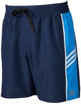 adidas Men's Colorblock Microfiber Volley Swim Trunks