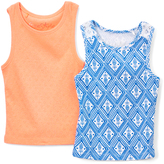 Freestyle Mesmerizing Orange Tank Set - Toddler & Girls