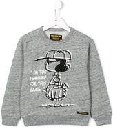 Finger In The Nose Peanuts printed sweatshirt