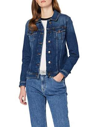 Tommy Hilfiger Women's Verona Jkt Mary Jacket, Blue (Mary), (Manufacturer size: 2)