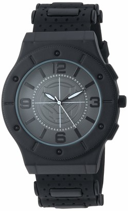 Marvel Men's Analog-Quartz Watch with Rubber Strap
